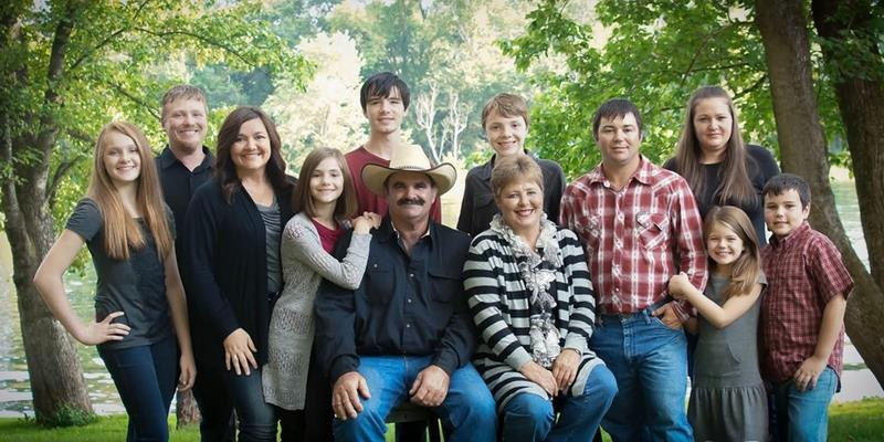 Here is the whole family - fall of 2014